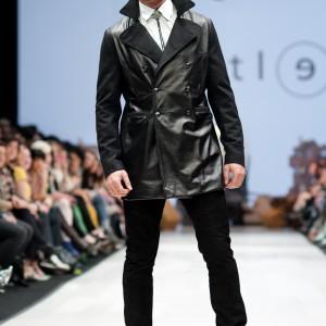 Weather coat black